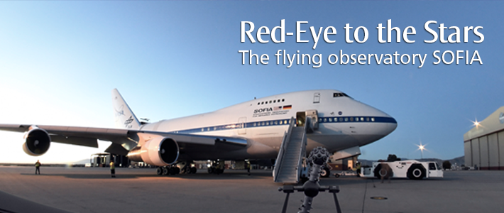 Red-Eye to the Stars - The flying observatory SOFIA